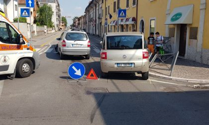 Incidente a Villafranca: ancora una volta all'incrocio di via Custoza
