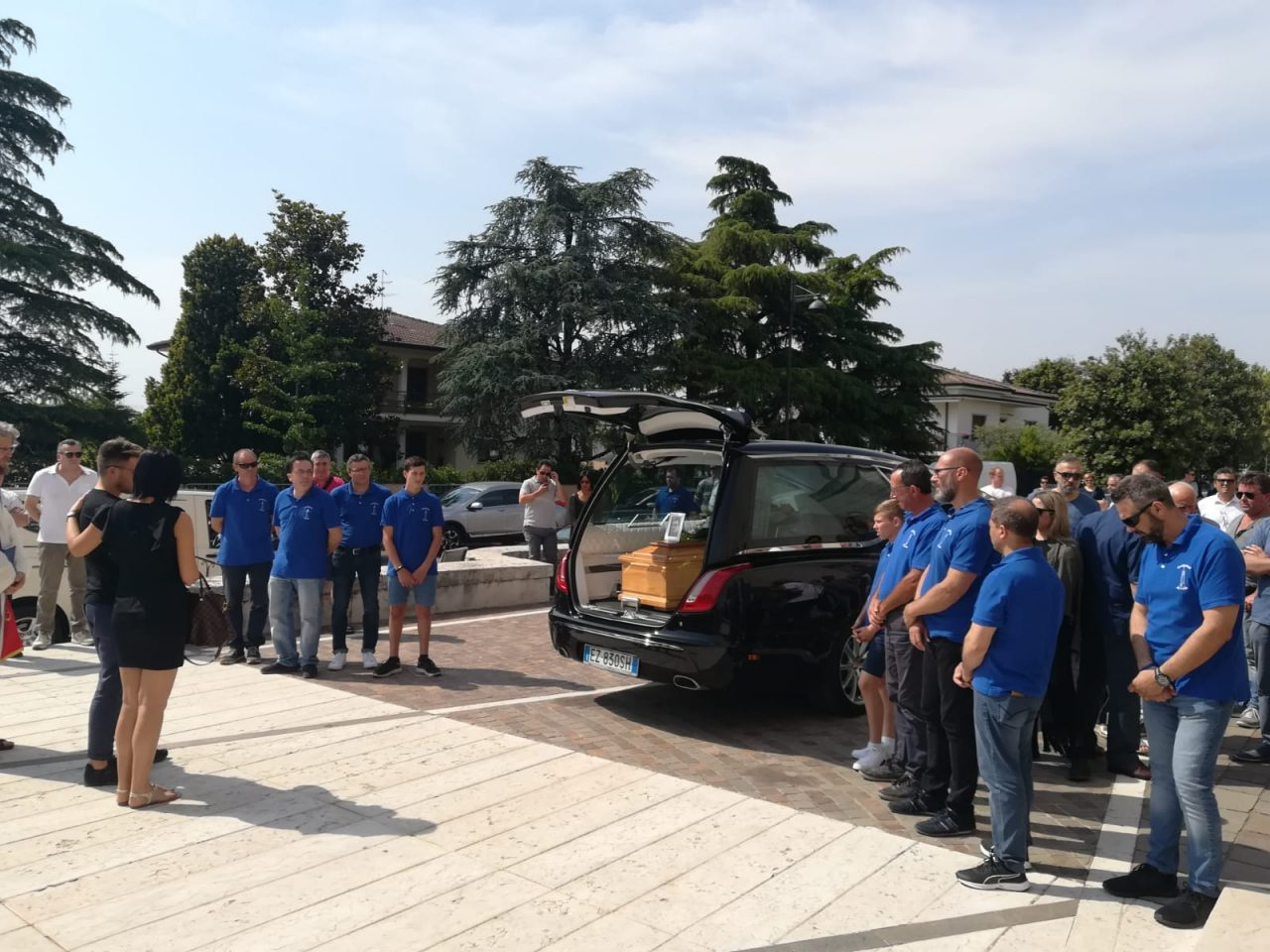 Due comunità, Arcole e Santo Stefano di Zimella, piangono la scomparsa di Massimo Palazzin.