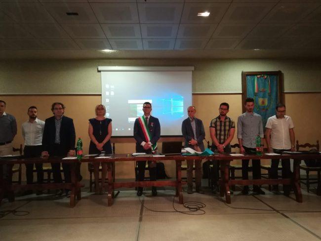 Veronella: ecco il giuramento del neo sindaco Loris Rossi FOTO e VIDEO
