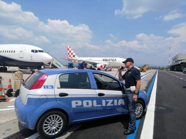 Ordine di carcerazione pendente: arrestato in aereoporto