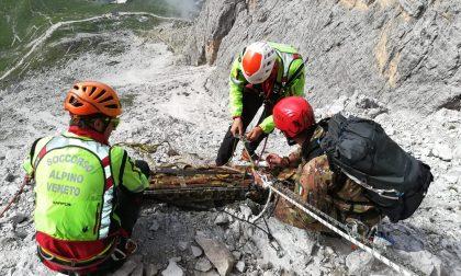 Famiglia in difficoltà sul Monte Baldo: salvati dai soccorsi