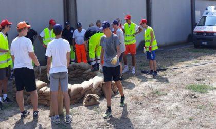 Protezione civile arriva il campo estivo a Minerbe