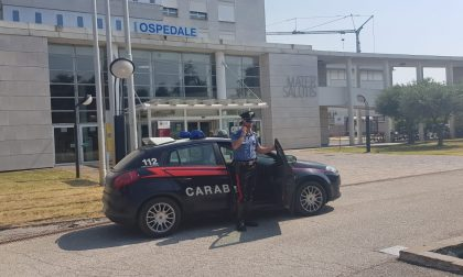 Sorpreso a rubare in ospedale a Legnago è stato arrestato