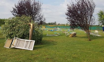 Violenta tromba d'aria colpisce l'acquapark Castelbeach