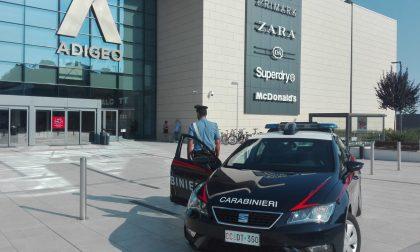 Tentato furto aggravato arrestata donna all'Adigeo