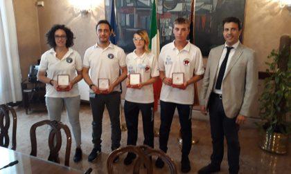 Medaglie Venete ai mondiali di Karate ricevute in Regione