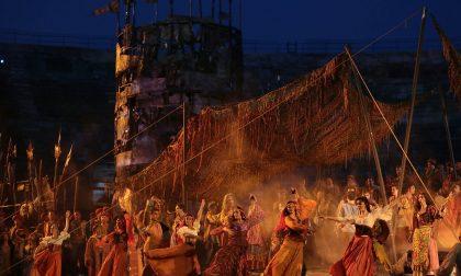 Fiesta hispanica con l'Arena di Verona sul monte Baldo