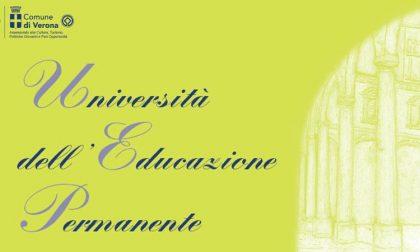 Università dell'Educazione Permanente svelato il programma di Verona