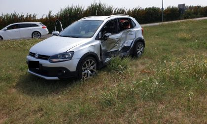Incidente poco fuori Mozzecane, una donna ferita