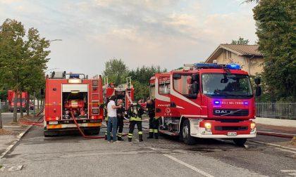 Grave incendio in azienda a 60 km da Legnago