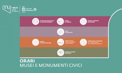 Ferragosto orari di musei e monumenti a Verona