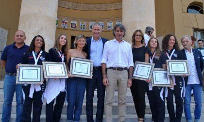 Pattinaggio artistico premiate le campionesse mondiali