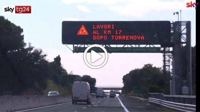 Autostrade: via libera ai tutor, sistema riattivato per il controesodo