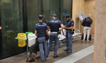 """Operazione """"Alto impatto"""" in stazione a Porta Nuova"""