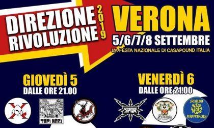 Verona, nel fine settimana la festa nazionale di Casapound