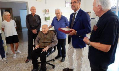 Don Bruno Bersan compie 100 anni l'unico sacerdote centenario a Verona