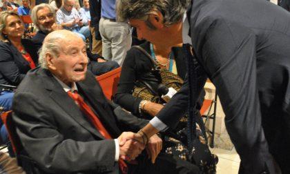 Libero Cecchini compie 100 anni, gli auguri del sindaco di Verona