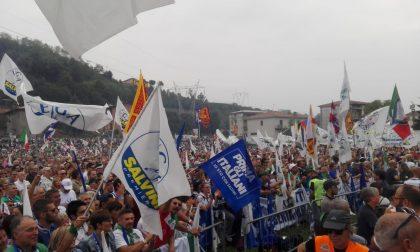 """Raduno di Pontida, Salvini: """"Questa è l'Italia, una Italia che vincerà"""" FOTO E VIDEO"""