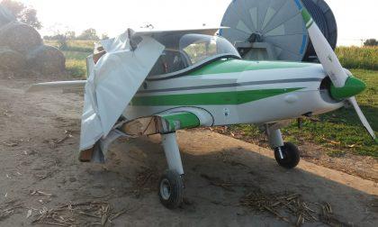 Precipita col suo ultraleggero, salvo pilota veronese FOTO