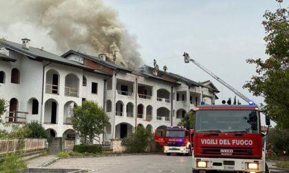 Residence va a fuoco sul Garda