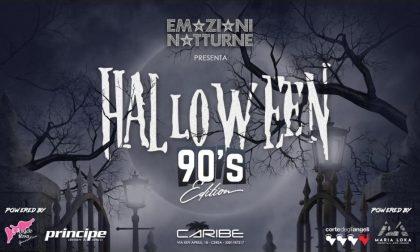 Halloween 90's al Caribe di Cerea un viaggio indietro nel tempo