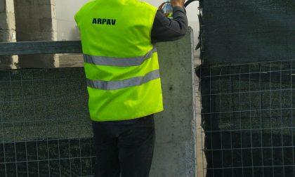 Tecnici Arpav a Angiari per monitorare la qualità dell'aria