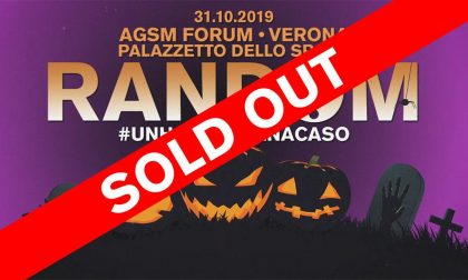 Halloween Random: è tutto esaurito all'Agsm Forum