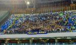 Hellas, tifosi tenuti fuori dal San Paolo