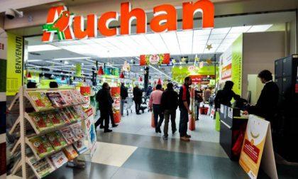 Sciopero Auchan, presidio dei lavoratori a Porte dell'Adige di Bussolengo