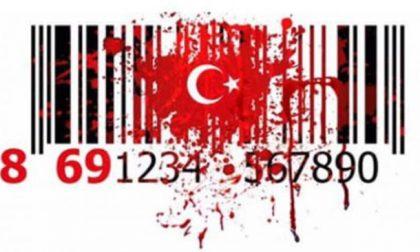 Boicottare prodotti della Turchia: occhio al codice a barre