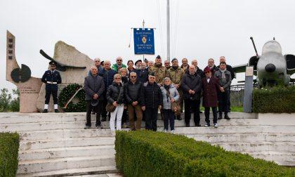Delegazione dei Sottufficiali d'Italia in visita al 3° Stormo