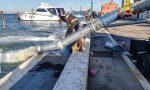 Vigili del fuoco veronesi ancora al lavoro per liberare Venezia dall'acqua