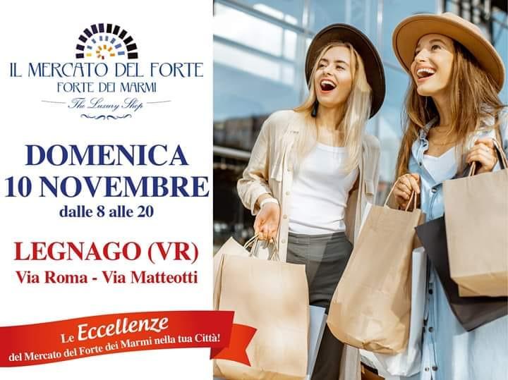 Il Mercatino da Forte dei Marmi e Il Mercato del Forte a Legnago - Verona Settegiorni - Verona Settegiorni