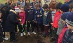 Giornata nazionale degli Alberi, a Parona i bimbi ne piantano cinque