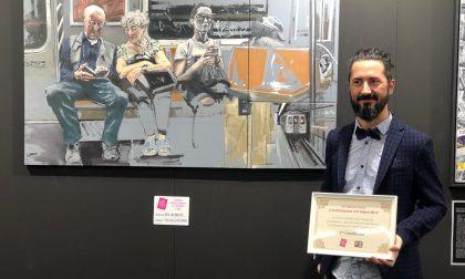Denis Gambaretto vince il terzo premio al Contemporary Art Talent di ArtePadova