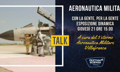 """Il 3° Stormo al """"Festival della Scienza"""" di Verona"""