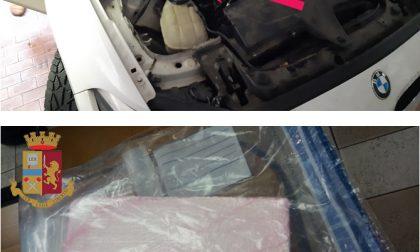 Nascondeva un chilo di cocaina nell'auto: arrestato 31enne rumeno