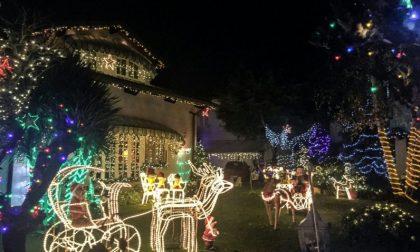 Vigasio, rubata la luminaria di Babbo Natale