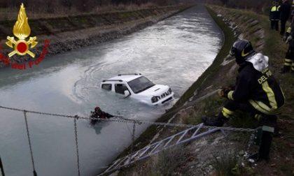 Auto riaffiora dalle acque del Piave, dentro il corpo di Angelo Dalla Favera