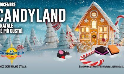 Un mese di iniziative al centro commerciale GrandeMela Shoppingland con il  Candy Christmas