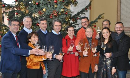Auguri di fine anno dal sindaco Sboarina e la giunta