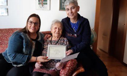 Giuliana Cavasin festeggia 100 anni