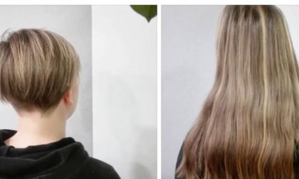 Ragazza di Cerea dona i suoi capelli, un bel gesto dedicato alle donne che combattono