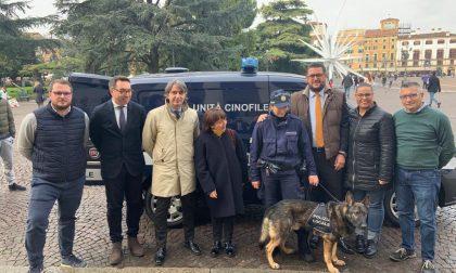 Operativa la nuova Unità cinofila della Polizia locale