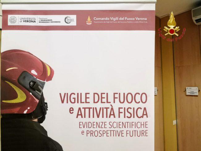 Vigili del Fuoco, il convegno in università a Verona