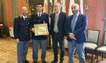 Premiato il campione di judo Fernando Marverti, il poliziotto veronese