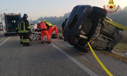 Lungadige Attiraglio, ancora un incidente: auto si ribalta