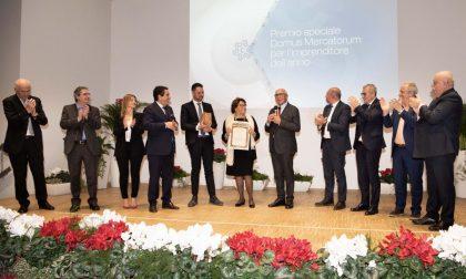 Anerio Tosano riceve il premio Domus Mercatorum