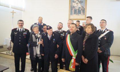 Carabinieri Verona, l'omaggio a Igino Facchinetti che fa 100 anni