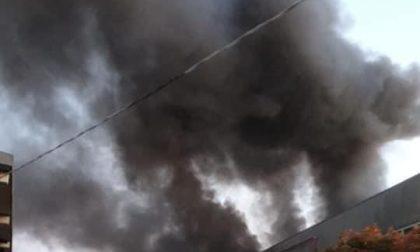 Incendio nell'impianto rifiuti di Montebello Vicentino prelievi dell'aria inviati ad Arpav